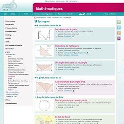 Pythagore - Mathématiques