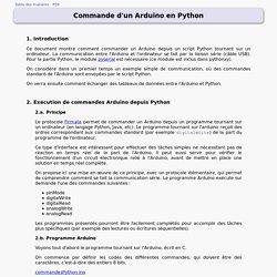 Python/Arduino