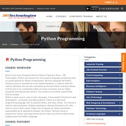 Python Training in Pune with Placement