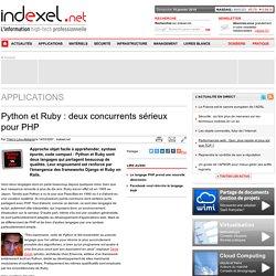Python et Ruby : deux concurrents sérieux pour PHP