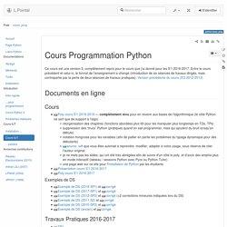 python:cours_prog [LPointal]