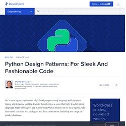 Python Design Patterns Guide