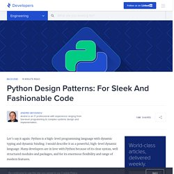 Python Design Patterns Guide