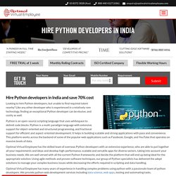 Hire a Python Developer for your Machine Learning Project