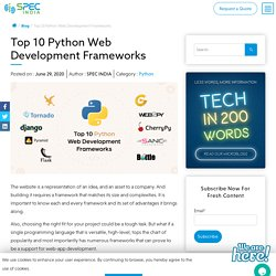 Top 10 Python Web Development Frameworks