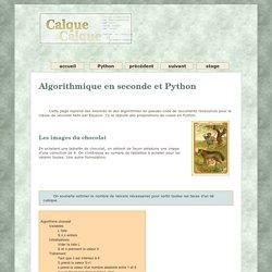 Python en seconde