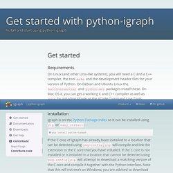 python-igraph