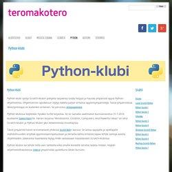 Python-klubi - Teromakotero