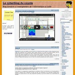 Python - Le cyberblog du coyote