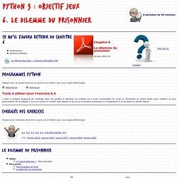 Python : objectif jeux