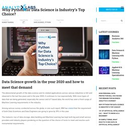 Why Python for Data Science is Industry's Top Choice? Latest Trends