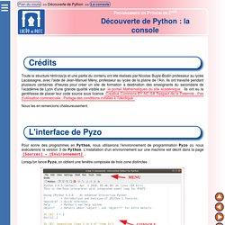 Python Seconde - Découverte