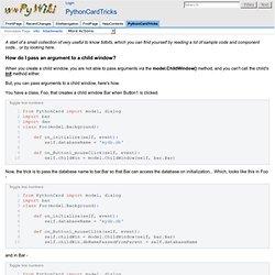 PythonCardTricks