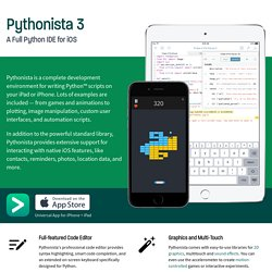 Pythonista - omz:software