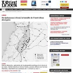 Du Qalamoun à Ersal, la bataille de l'Anti-Liban décryptée - Nour BRAIDY et Rita SASSINE