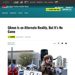 QAnon Is an Alternate Reality, But It's No Game