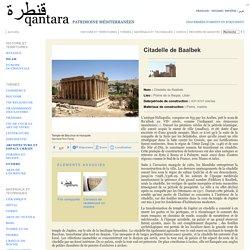 Citadelle de Baalbek
