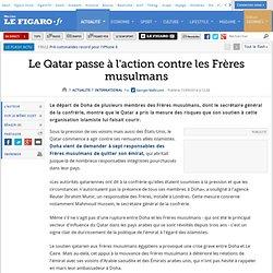 Le Qatar passe à l'action contre les Frères musulmans