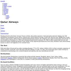 Qatar Airways - Musafir
