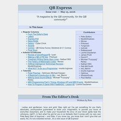 QB Express: Issue #20