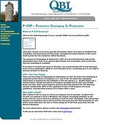 QBI | P-CIP