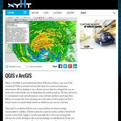 QGIS v ArcGIS - xyHt