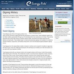 Qigong History