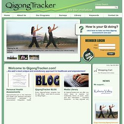 Welcome to QigongTracker.com!
