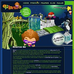 mundo virtual para niños ecológico y educativo