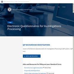 e-QIP Application