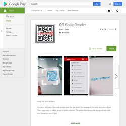 QR Code Reader - Google Play の Android アプリ