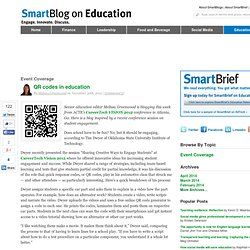 QR codes in education SmartBlogs