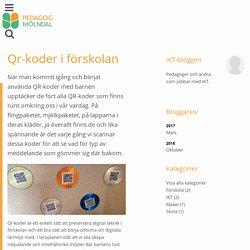 Qr-koder i förskolan - Mölndal