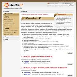 QRcode sous Linux