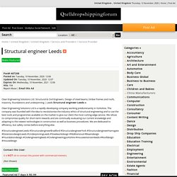 Structural engineer Leeds