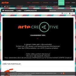 Qu'est ce qu'ARTE Creative?