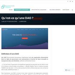 Qu'est-ce qu'une DAO ? – Blockchain France