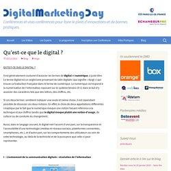 Qu'est-ce que le digital ?
