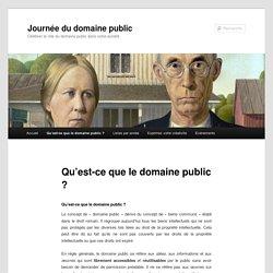 Qu'est-ce que le domaine public ?