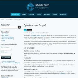 Qu'est-ce que Drupal?