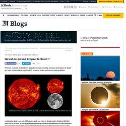 Qu'est-ce qu'une éclipse de Soleil?