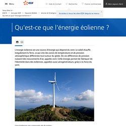 Qu'est-ce que l'énergie éolienne ?