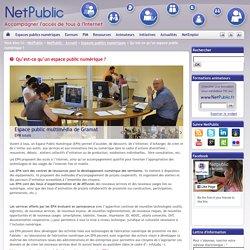 Qu'est-ce qu'un espace public numérique ?