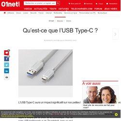 Qu'est-ce que l'USB Type-C ?