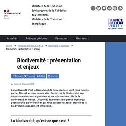 Qu'est-ce que la biodiversité ?