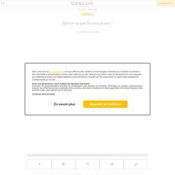 Qu'est-ce que la conscience