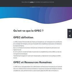 Qu'est-ce que la GPEC ?