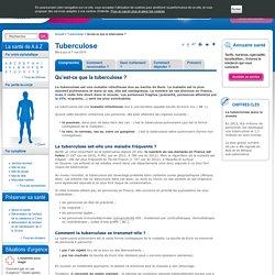 Qu'est-ce que la tuberculose ?