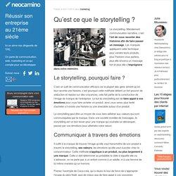 Qu'est ce que le storytelling
