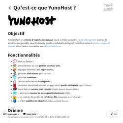 Qu'est-ce que YunoHost ?